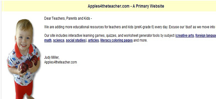 apples for teacher