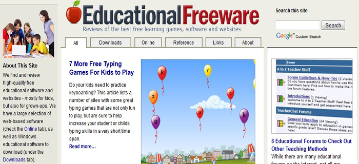 educational freeware