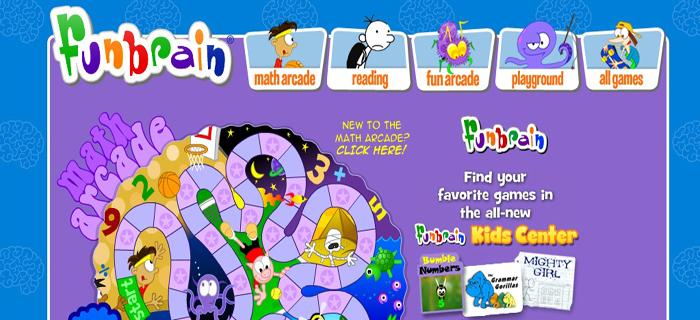 FunBrain Math Arcade | Best Kids Websites