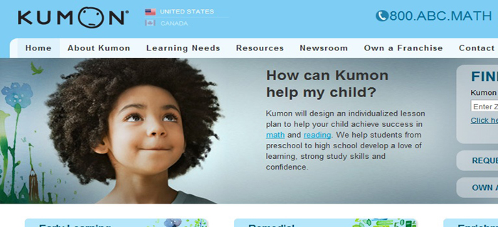 Kumon | Best Kids Websites