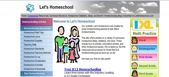lets homeschool