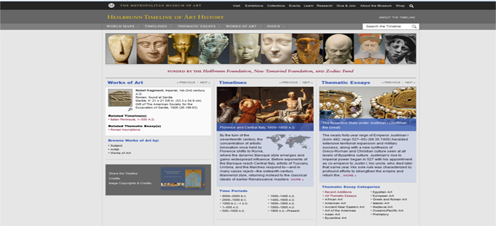 timeline art history