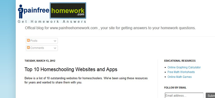 painfree homework