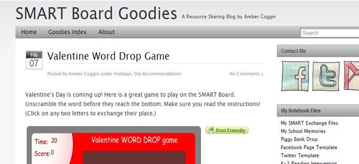 smartboard goodies