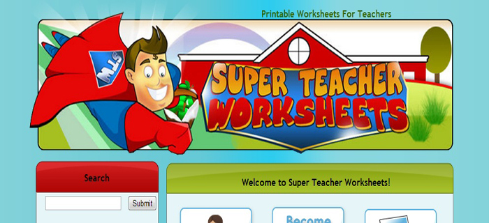 Super Teacher Worksheets | Best Kids Websites