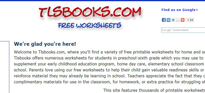 TLS Books | Best Kids Websites