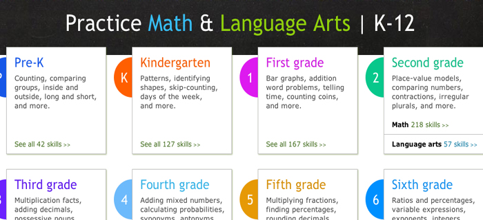 ixl math and english